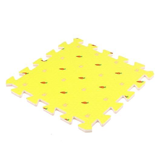 Yardwe Puzzle Play Mat Kids Cuadrado Conejito EVA Espuma ...