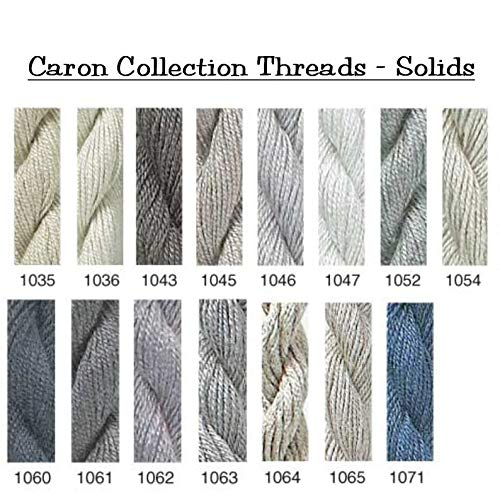 Caron Collections Impressions, Hand-Dyed Threads. Color #1052, Gray