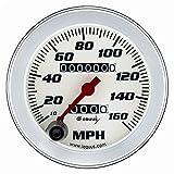 Equus 8076 Speedometer - White Dial