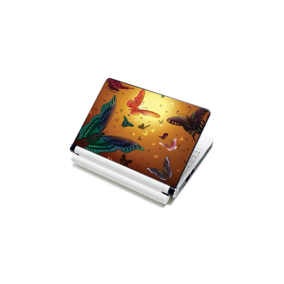15 15.6 inch Laptop Notebook Skin Sticker Cover Art Decal Fits Laptop Size of 13 13.3 14 15 15.6 16 HP Dell Lenovo Asus Compaq Asus Acer Computers (Included 2 Wrist Pad)