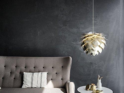 Umage VITA Silvia Pendelleuchte Messing gebürstet Lampenschirm D 45 cm Lampe