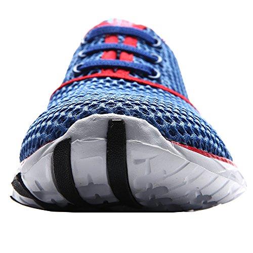 Aleader Aqua Shoes - Escapines de malla para hombre Red