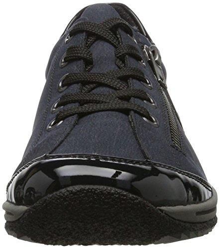 Les Femmes Rieker L5224 Bleu Baskets (marine / Pacifique Noir)