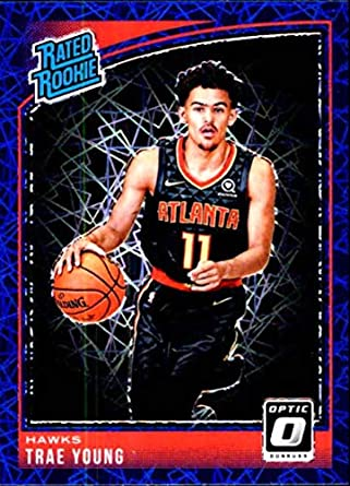 Sports Mem, Cards & Fan Shop 2018-19 Optic Trae Young Rookie Card Rc #198