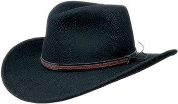Black Creek BC2004 Crushable Wool Felt Outback Hat USA MADE 9b8370f02889