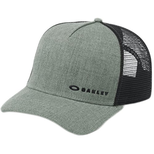 Oakley Men's Chalten Cap, Grigio Scuro, One Size (Surfing Baseball Caps)