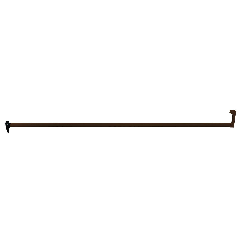 Defender Security S 4338 36-Inch Sliding Door Security Bar Lock, Bronze