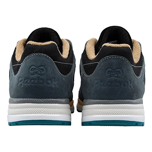 Reebok GS Ventilator SDE v63649 Herren Sportschuhe ~ RRP £75 Grey, Black, Orange, Turquoise
