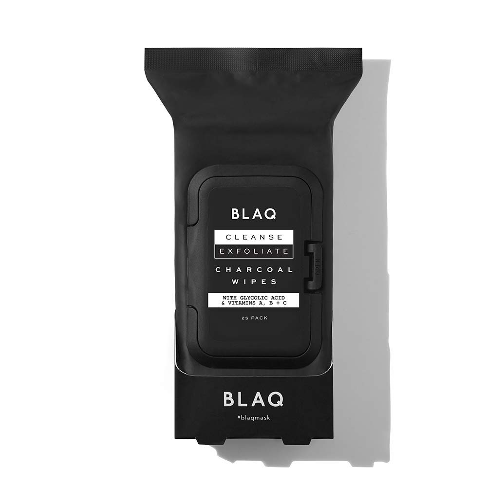 BLAQ | Charcoal Face Wipes