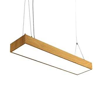 Nordic Led Trioy Life Design Suspension Moderne Lampe Rectangulaire dBoCxe