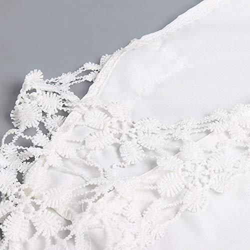 Rond de Blanc Manches col dcontracts Sport Longues Veste Vtements T pour Femmes et Shirt de Unie AMUSTER Couleur wn8qSEYX