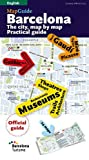 img - for BARCELONA GUIDE & MAP: The City, Map by Map. Practical guide (MapGuides (Triangle Postals)) book / textbook / text book