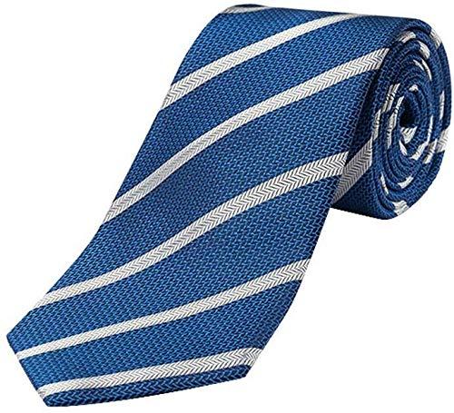 Yuany Corbata de Seda clásica para Hombres Corbata de Color sólido ...