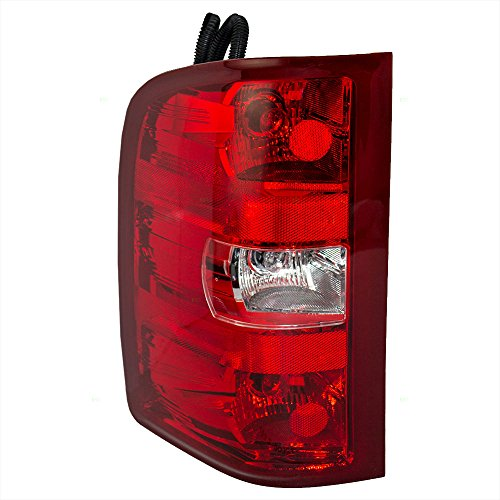 Drivers Taillight Tail Lamp Lens Replacement for Chevrolet GMC Pickup Truck - Lenses Light And