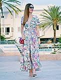 Milumia Women's Button Up Split Floral Print Flowy