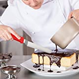 """Cake Decorating Spatula from KitchWhiz, The ONLY Professional icing spatula set including 6"""",8"""",10"""" TOP Quality Stainless Cake Spatulas. Perfect Cake Decorating Supplies with Bonus of 10 Pastry Bag"""