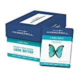 Hammermill - Laser Print Paper, 24lb, 98 Bright, 8.5 x 11'' - Ream (Pack 5)
