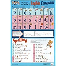 The Sounds and Spellings of English Consonants Pronunciation Poster (TEFL / ELT / ESL / ESOL): Sounds and Spelling of English Consonants by Cathy Suzuki (1998-10-01)