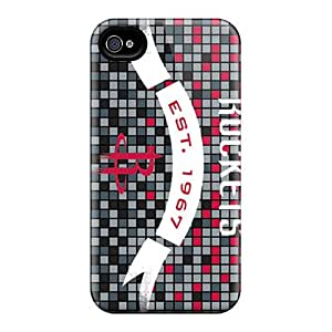 Faddish Phone Houston Rockets Case For Iphone 4/4s / Perfect Case Cover