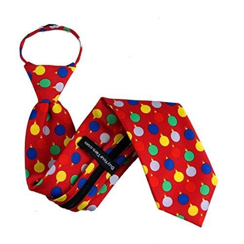 Christmas Zipper Tie - 9