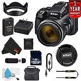 Nikon COOLPIX P1000 16.7 Digital Camera 3.2' LCD (International Model) Base Bundle