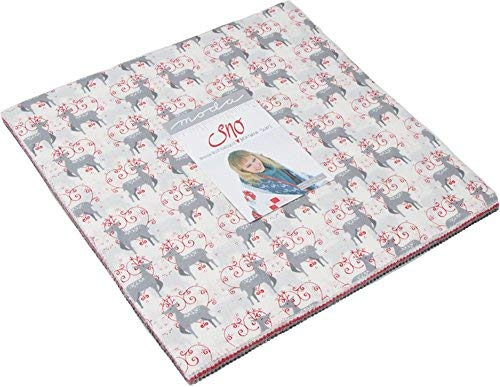Northern Quilts Sno Layer Cake 42 10-inch Squares Moda Fabrics 39720LC