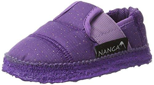 Nanga Mädchen Glamour Espadrilles Violett (dunkellila)