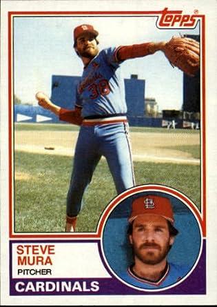 Amazoncom 1983 Topps Baseball Card 24 Steve Mura
