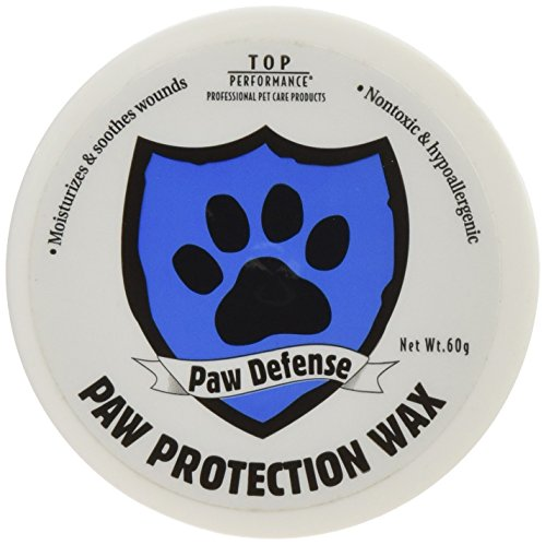 Top Performance PetEdge Paw Defense Paw Protection Wax in 60g Container – Protect Dog and Cat Paws from Tough Surfaces by Top Performance