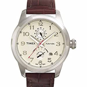 Timex Men's T2D941 Automatic Brown Strap Watch