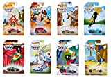 NEW 1:64 HOT WHEELS COLLECTION - Basics Looney Tunes Assortment Set of 8 Diecast Model Cars By HotWheels