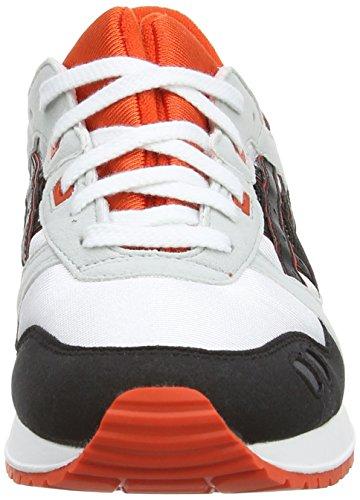 ASICS C5A4N Zapatillas de Deporte Unisexo Blanco (White / Black 190)