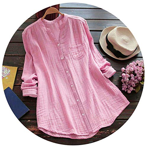 Summer Long Shirt Women Casual Stand Collar Short Sleeve for sale  Delivered anywhere in USA