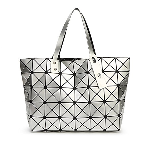 Folding Bag Handbag Rubik's Shoulder Silver Rubik's Folding Girdle Cube wgqnnaTd1