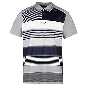 Oakley Tanner Hombre Polo Polo Camiseta Manga Corta té Top Golf ...