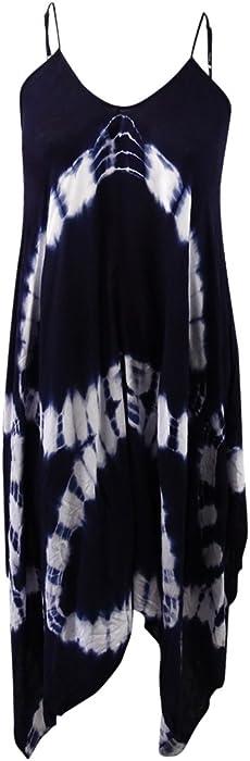 484e7c201e353 Raviya Plus Size Tie Dye Swimwear Cover Up (0X