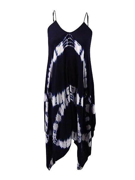 Amazon.com: raviya Mujer Tie-Dye pañuelo Maxi vestido: Clothing