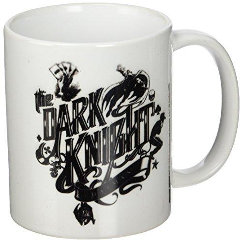 Batman Mug The Dark Knight Typography Pyramid International Comics Cups Mugs