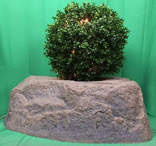 Outdoor Lighted Boxwood Topiary in US - 4