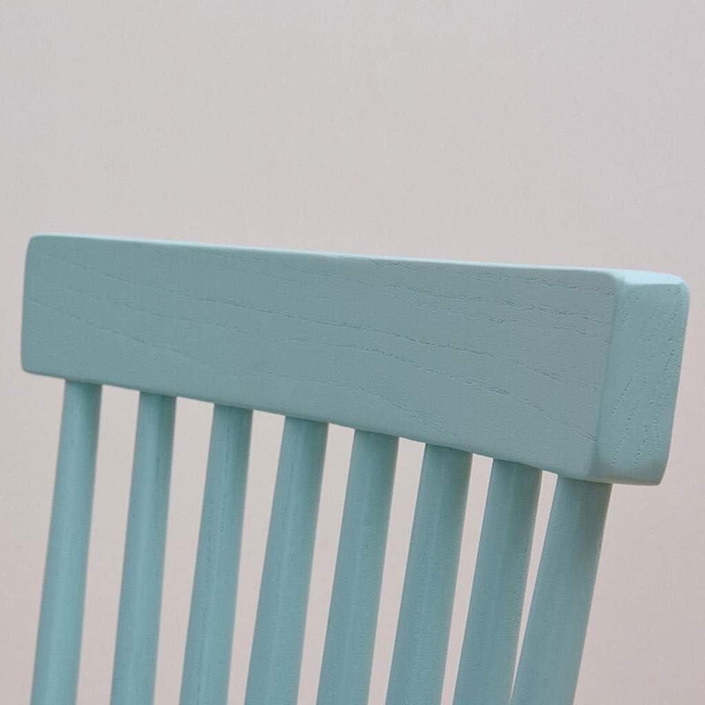 RKY Chaise, chaise en bois, chaise, salle à manger chaise dossier, chaise de Simple moderne Loisirs, Café Chaise, 5 couleurs disponibles / - / (Color : D) B