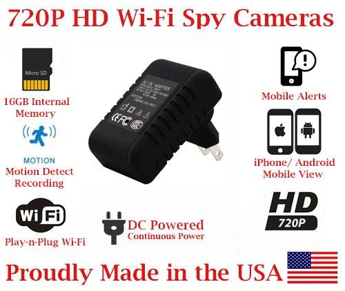 Adapter Wireless Spy Camera Covert