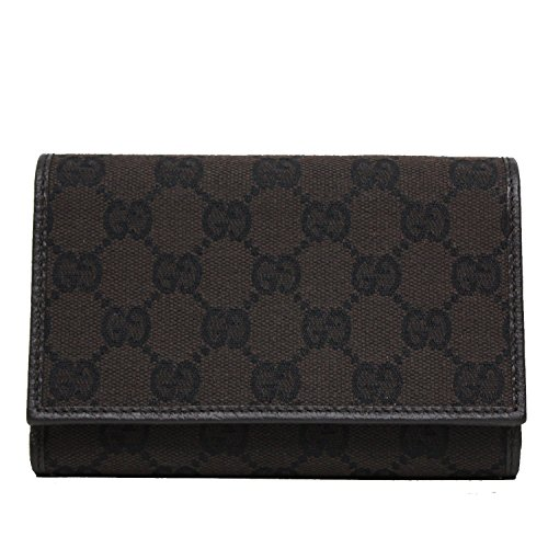 Gucci GG Canvas and Leather Women's Trifold Wallet - Credit Card Gucci