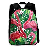 The Children's Hemp Palm Flamingo Backpack