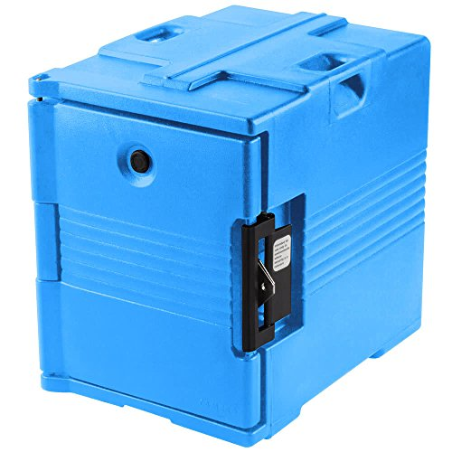TableTop king Camcarrier UPC400SP159 Cold Blue Pan Carrier with Security Package ()