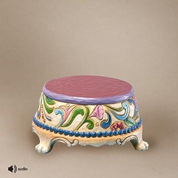 Enesco Disney Traditions Designed by Jim Shore Princess Sonata Musical Base Figurine 2.25 in