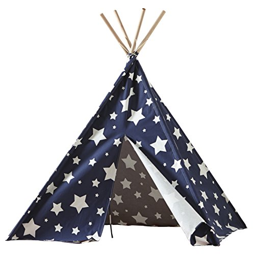 Merry Garden Childrens Teepee White product image