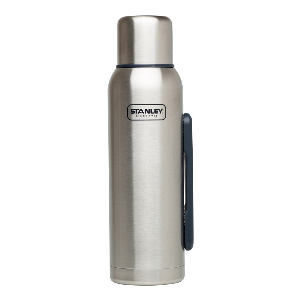 Stanley Adventure Vacuum Bottle 1.3L Stainless Steel - Talla Única, Color Plata 10-01603-002