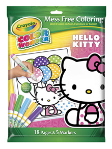 Crayola Color Wonder Mess-Free Coloring Set with Hello Kitty