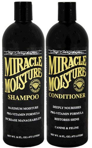 Chris Christensen Diamond Series Miracle Moisture Shampoo and Conditioner 16oz Bag Deal