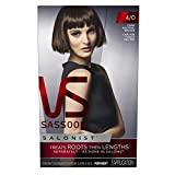 Vidal Sassoon Salonist Hair Colour Permanent Color Kit, 4/0 Dark Neutral Brown (PACKAGING MAY VARY)